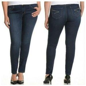 Melissa McCarthy Seven7 22W Stretch Legging Jeans